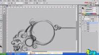 【技能UI界面图标示范】名动漫CG教育视频教程系列