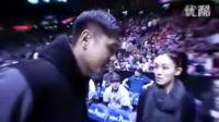 【结婚小岛钻石】超级感动!NBA中场黑人陈建州向范范求婚!祝他们幸福快乐!
