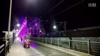 SS6B通过焦柳线襄樊汉江大桥