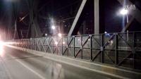 SS6B电力机车通过襄樊汉江大桥