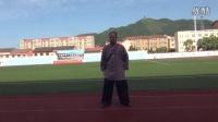传统杨式太极拳教学20150727视频站桩-1