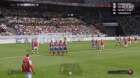 FIFA15 任意球 集锦