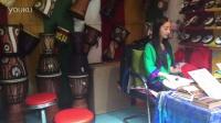 丽江古城最美的鼓手