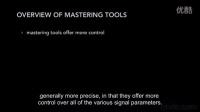 【母带处理技术】4.1 Overview of mastering tools