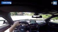 【漫话汽车】宝马M4德国不限速公路狂飙时速281公里