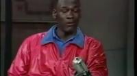 迈克尔乔丹做客 David Letterman 脱口秀片段 AJ1 遭吐槽太丑