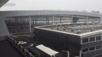 杭州东站拍车(1):两列高速动车组同时进站
