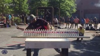 2015年世界切割大赛世界纪录过27水瓶