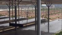 杭州东站拍车(4):CRH380B出站(杭长杭甬方向)