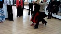 交谊舞教学慢四--重度倾斜与冲浪的区别