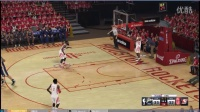 NBA 2K15PC游戏 VS爵士第二场(有绝杀)