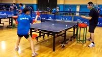 《乒乓球技术训练》正手两点拉练习