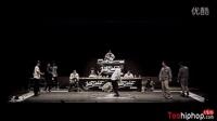 【太嘻哈】2014 JUSTE DEBOUT Korea Popping 半决赛-1 (B.W.B vs DYNASTY DIAMONDZ)