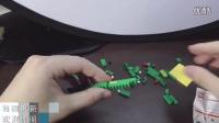 【食玩联盟】扭蛋 鳄鱼迷你积木 乐高 食玩 lego 日本玩具