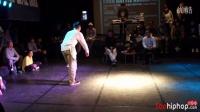 【太嘻哈】Euro battle Korea Popping 2012 8进4 fire bac vs poppin j