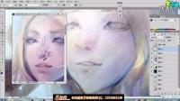 手绘韩风绘画技巧《第三弹:材质表现与虚实光影》