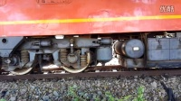 DF4B机车出车前制动实验  列车火车