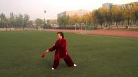 葛宏武女士表演陈式49式太极剑