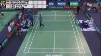 2015 法国羽毛球公开赛首轮: 柳延星、李龙大 vs Michael FUCHS Birgit M