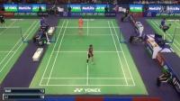 2015 法国羽毛球公开赛16强:李雪芮VS裴延珠