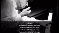 J. S. Bach - Preludes BWV 924-928 - G. Gould, Piano