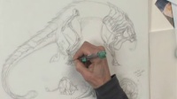 【手绘】怪物概念手绘设计_2