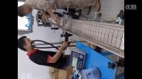 喜多力喷码机Ci3300在镁铝合金锭上的自动喷码视频(好少见)-广州蓝新