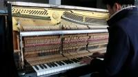 原装进口日本二手钢琴斯特韦斯特NO.51钢琴视频18217749703
