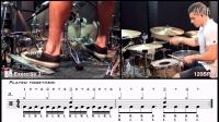 《双踩教学》鼓手Troy Wright教你双踩速度与耐力的基本功