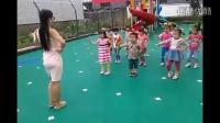 老师带儿童舞蹈大跳小苹果广场舞 精彩不断