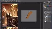 温柔一刀火熊网第一节-软件笔刷的调制与特效绘制流程演示