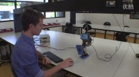 CQUniversity's Blue Footed Robot