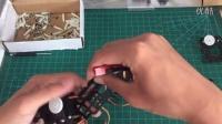 3.左臂组装第三部分 Ai.Frame 自拼裝人形机器人 阿波罗 AIF-44-0 视频组装教程