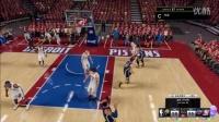 NBA 2k16 我的生涯 季后赛初体验