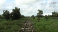 运转台展望 缅甸国铁 迪拉瓦港线 Thilawa-Ohkposu 前面展望