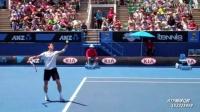 网球技术手机缓存视频:拉奥尼奇上旋发球(底线角度)-1