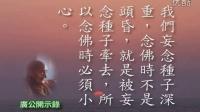 广钦老和尚开示录--与在家居士开示念佛篇