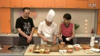 鲜虾吐司卷