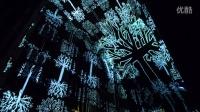 Generative virtual-reality installation
