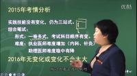 中医执业(助理)医师 导学课程 第1讲 课程提纲及考情分析