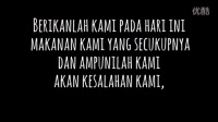 Indonesian Language The Lords Prayer