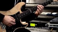 Shredding on a cheap guitar-