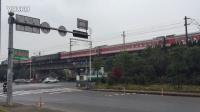 诸暨市北二环路拍车:K423次(HXD3C-0279)