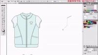 女童外套第3节 服装设计教程 服装设计视频 设计视频教程