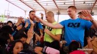 2015FIBA3x3全明星赛球员紧张备战
