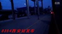 西局火车视频咸阳小运转