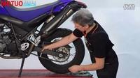 摩托车保养教程:摩托车链条松紧微调技巧_摩托车之家