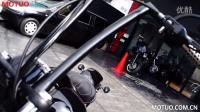 TRIJYA定制改装车:  FXS Blackline KOKUBI-Bar for FXS_摩托车之家
