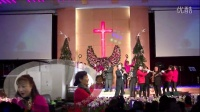 昆明圣约翰堂2015平安夜音乐会器乐合奏《铃儿响叮当》
