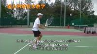 【凌众网球】网球截击教学和训练方法 网球教学 中英字幕